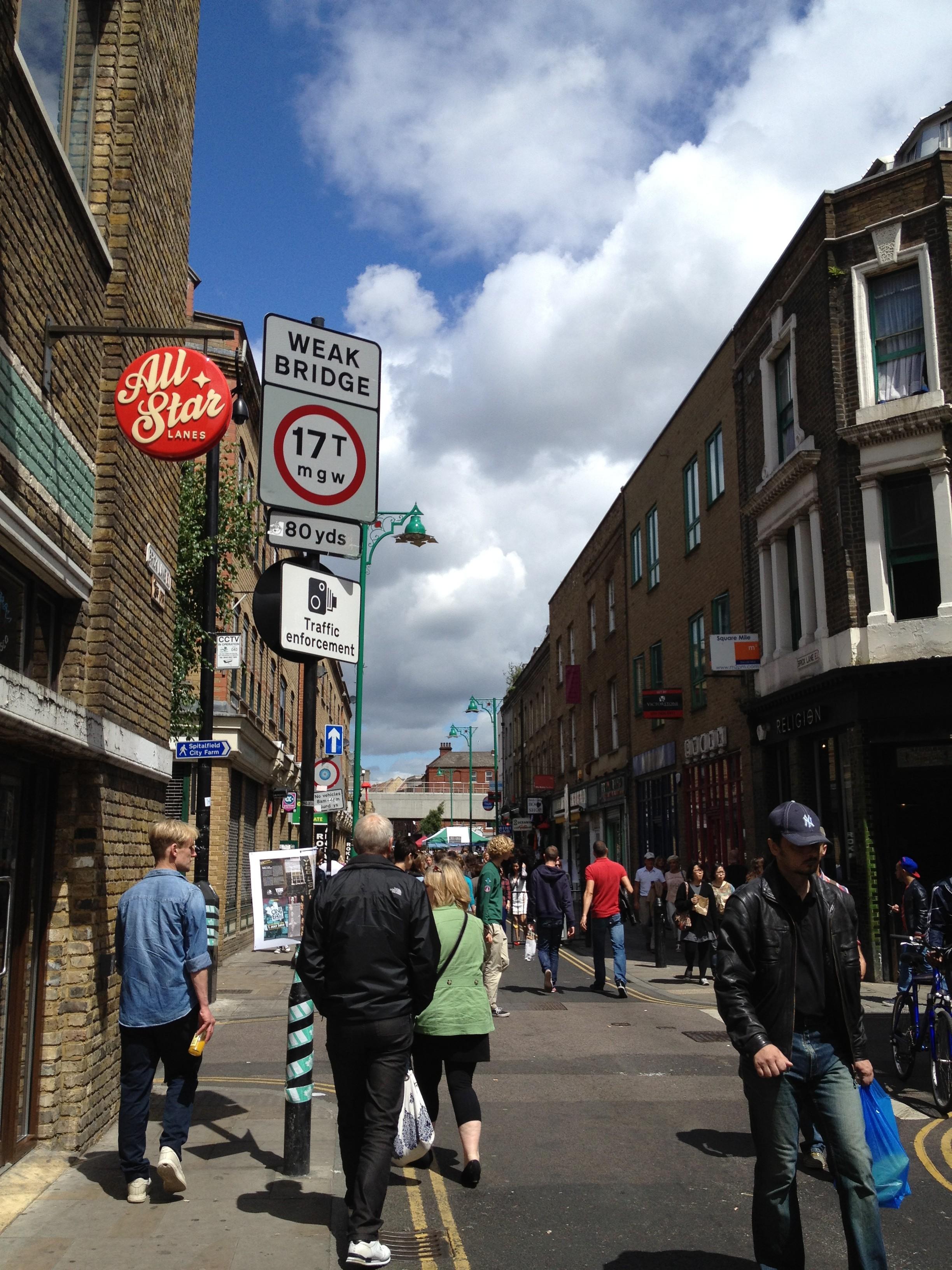 London, East End, pre-Olympics